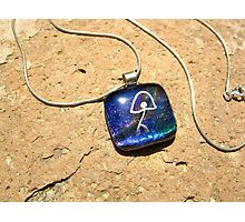 Necklace: Indalo on Dichroic