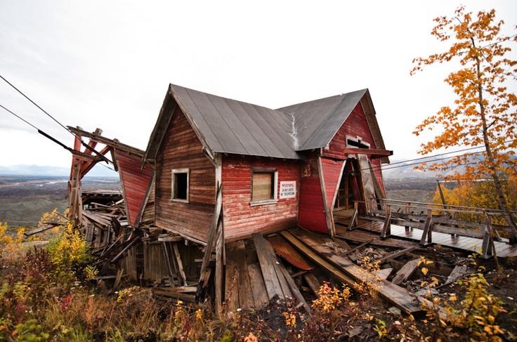 My future home!!: Abandoned Mine, Abandoned Building, Navid Barati, Alaska, Abandoned Copper, Copper Mine, Photo, Abandoned Houses, Abandoned Places
