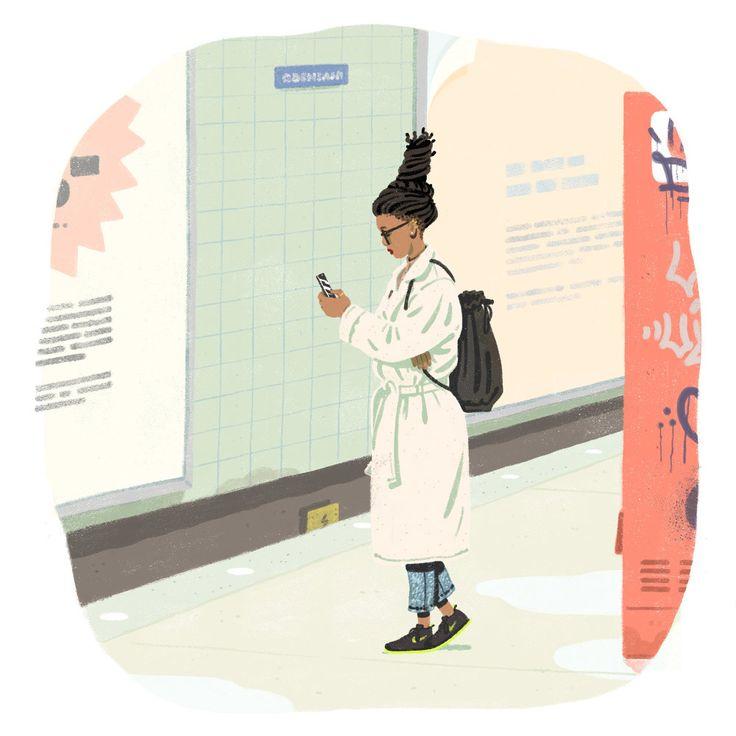 Jeff Östberg is a Swedish illustrator currently living and working in Stockholm. More images below.    Jeff Ostberg's Website Jeff Ostberg on Behance