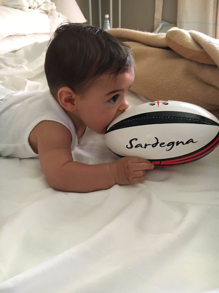 Little ... and talented <3 #rugby
