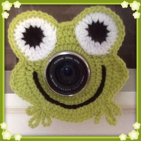 Camera Lens Buddy, Cute Novelty Frog! Handmade, Photo Prop, Baby Shower Gift