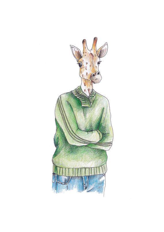 Jeffery the Giraffe by Jessie Richardson