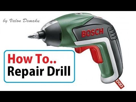 Drill Bosch Repair Test [How To]
