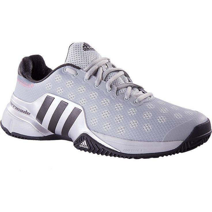 Adidas Barricade 2015 Clay Men's Tennis Shoe Grey/red