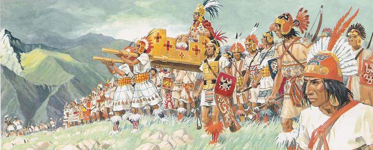An Inca Army - Pierre Joubert