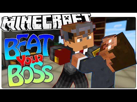 Minecraft | WHACK YOUR BOSS! | Kill Herobrine, Notch, & More (Minecraft Custom Roleplay Map) - YouTube