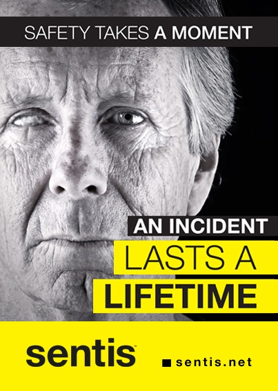 Safety takes a moment, an incident lasts a lifetime #workplace #safety