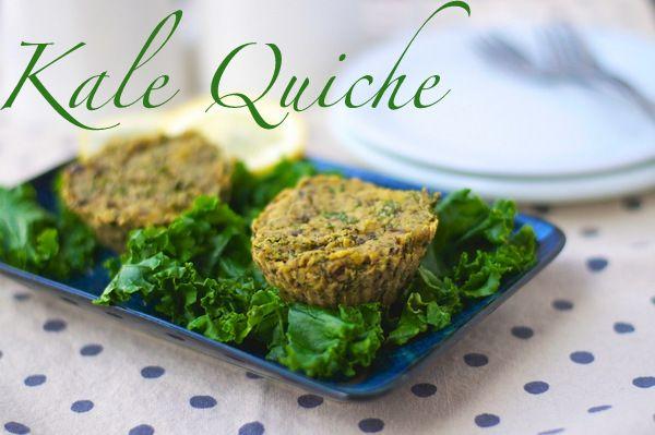 Kale Quiche