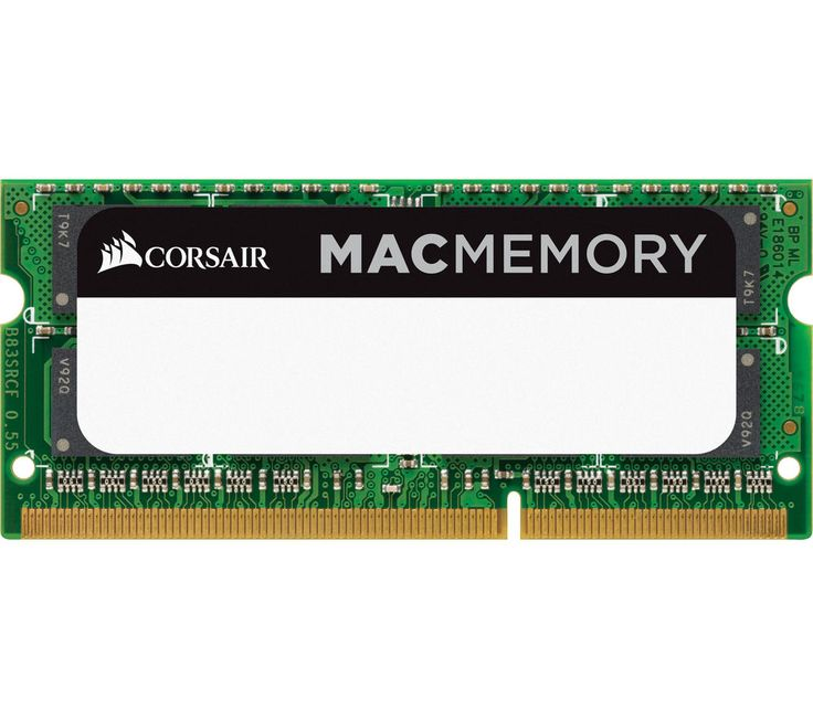 CORSAIR Mac Memory DDR3 PC Memory - 8 GB SODIMM RAM on sale in the UK along with best prices on many other computing products for home, gaming and office.