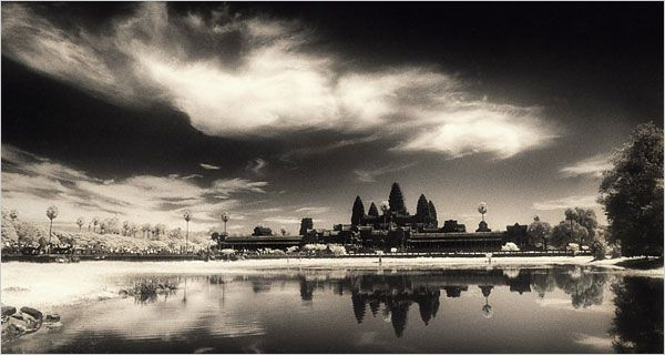 An iconic photograph of Angkor temple, trying to capture the timeless spirit of the place. Photo : John Mac Dermott.