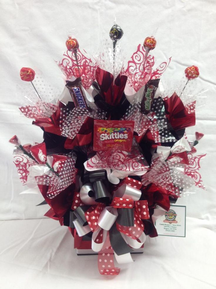 Go Hogs Themed Bouquet as shown 2995  Candy Bouquet