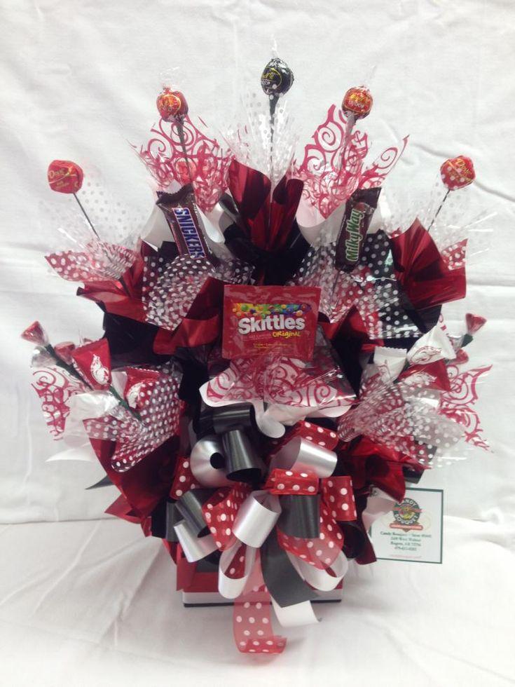 Go Hogs Themed Bouquet As Shown 29 95 Candy Bouquet