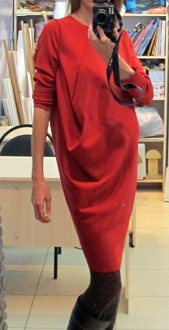 Платье О-силуэта с одной вытачкой / Простые выкройки / ВТОРАЯ УЛИЦА
