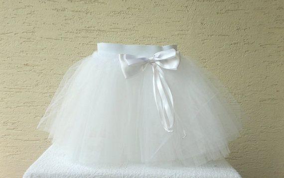 Girls birthday tutu girls tutu baby tutu skirt by KnitterPrincess, $22.50