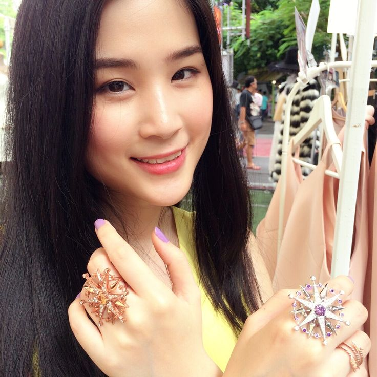 Nice Snowstar ring on christmas from Thai designer #jewelry Line: Bloodbplus