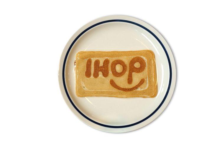 IHOP New Logo Pancake