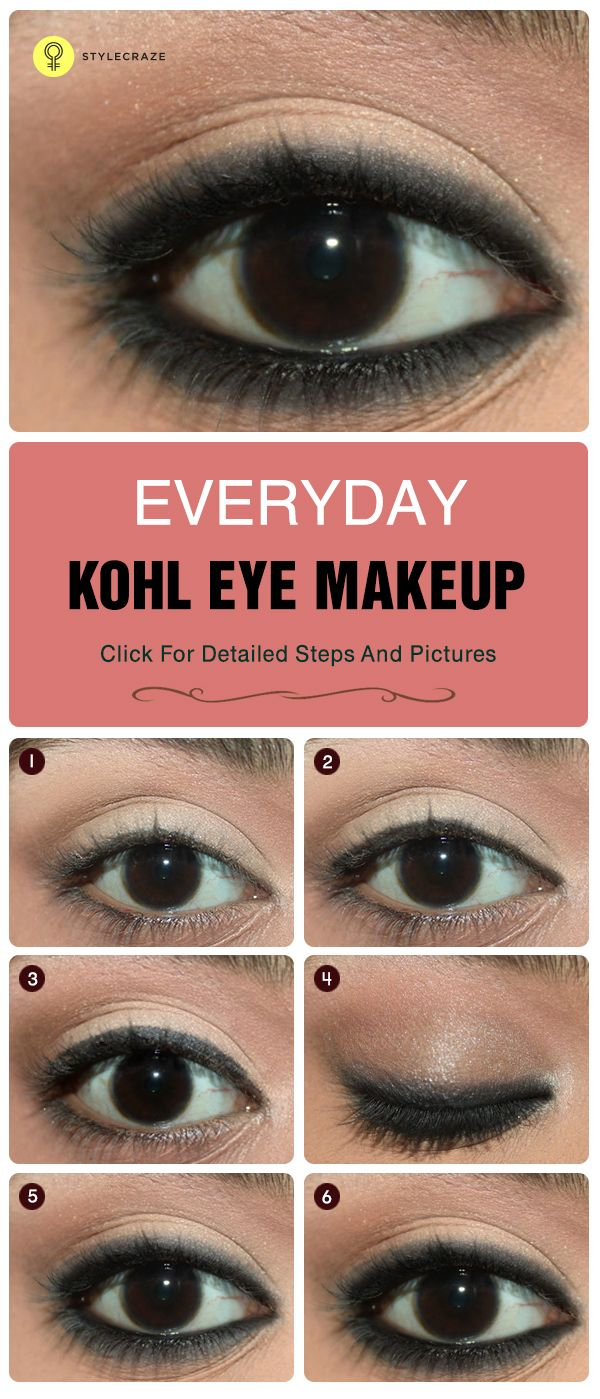 How To Apply Kajal On Eyes Perfectly?  Tutorial And Tips