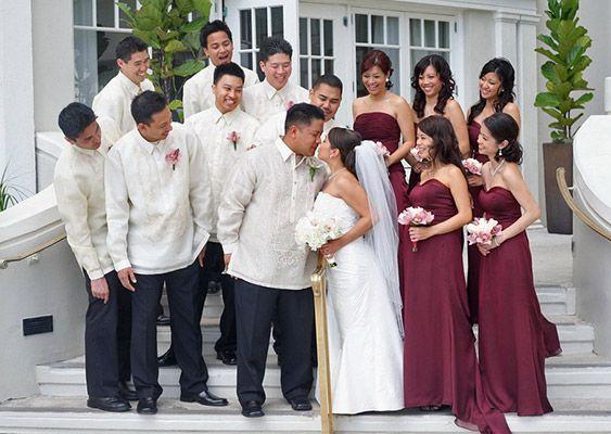 Barong for Barong tagalog wedding dress