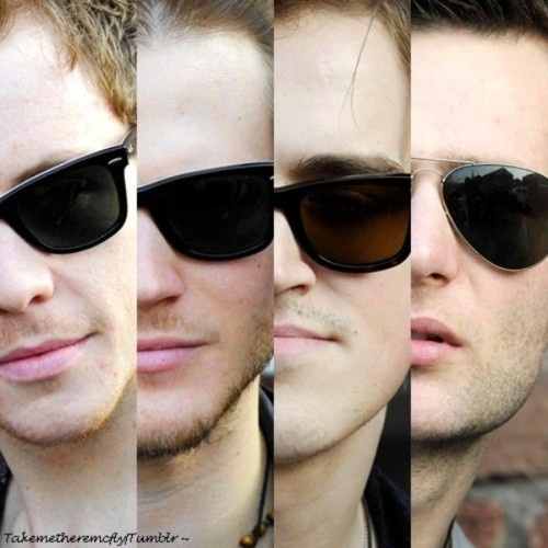 McFly. They love their Ray Bans.