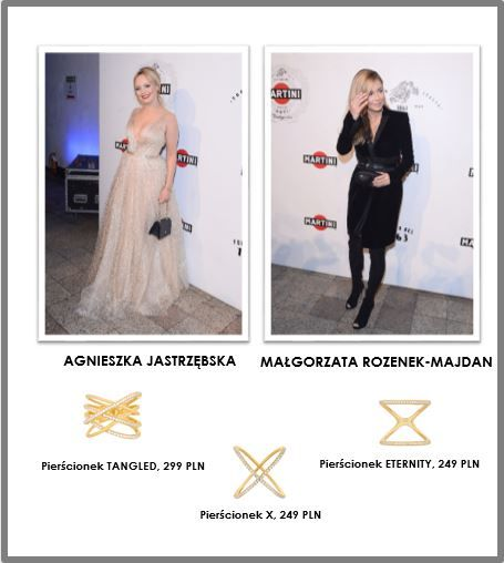 Gwiazdy w biżuterii SELFIE JEWELLERY na imprezie MARTINI