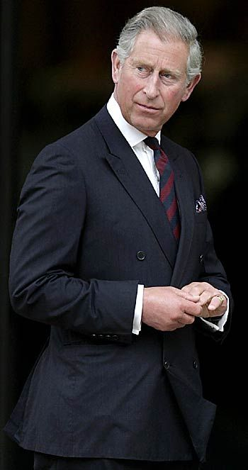 Prince Charles: The Prince of Wales and Duke of Cornwall; he has had the longest wait to become king of any English heir