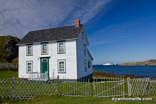 Salt Box House  Twillingate Newfoundland  Home