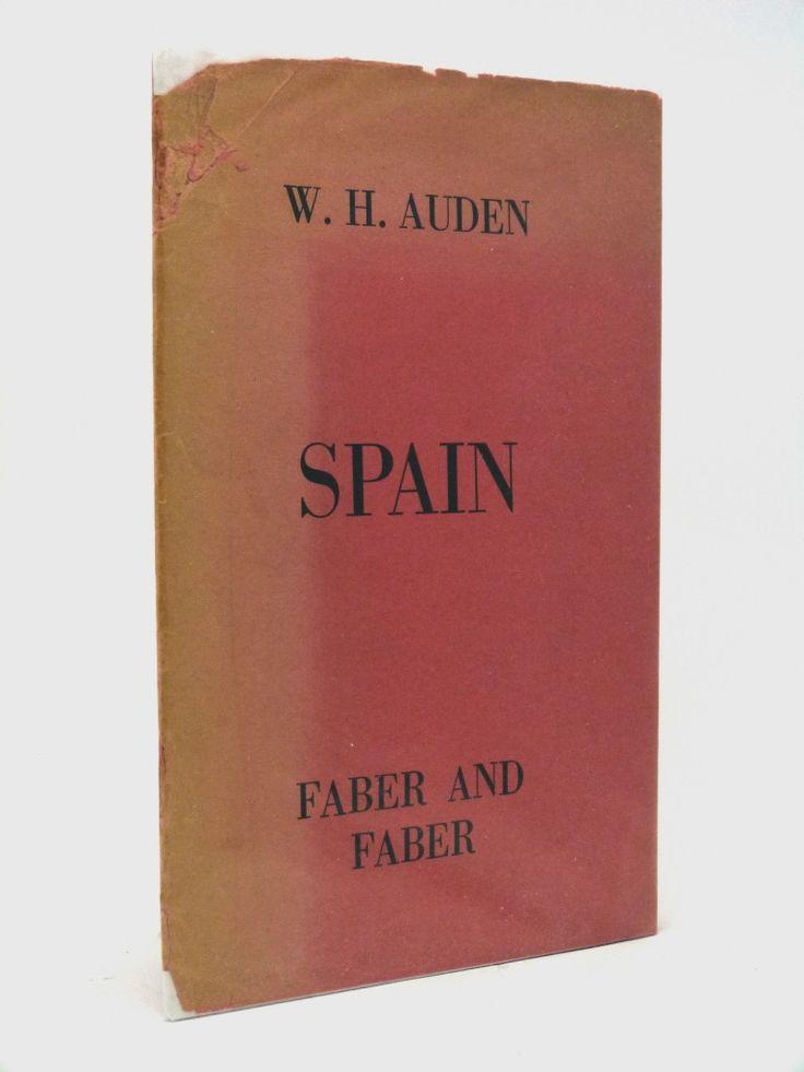 Spain by W H Auden, 1937