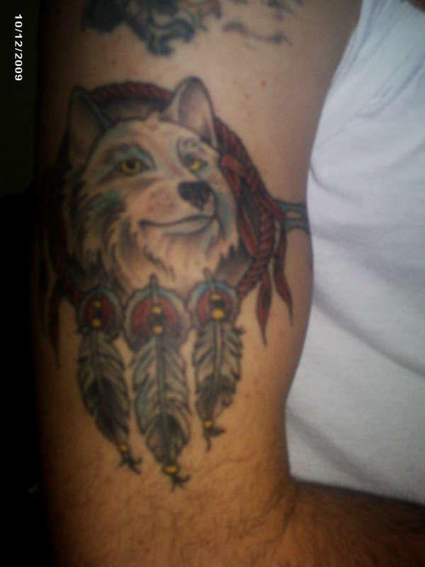 Wolf armband male tattoo images