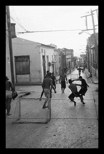 Fútbol callejero Cuba-Santiago