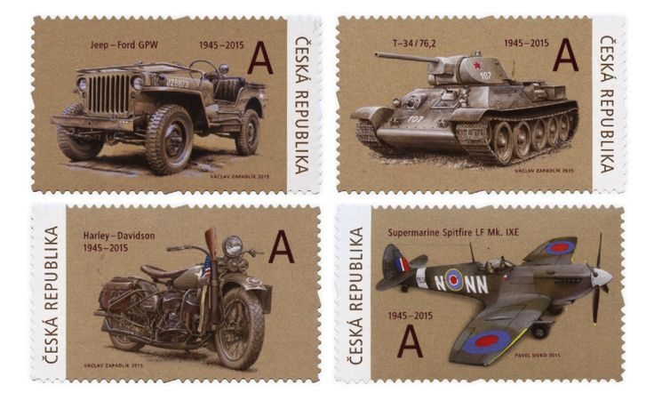 COLLECTORZPEDIA They brought Freedom: Jeep Ford GPW, Supermarine Spitfire LF Mk IXE, Harley-Davidson, T-34/76
