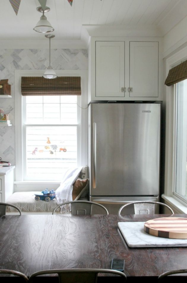 Fridge Next To Window Google Search Kitchen Small
