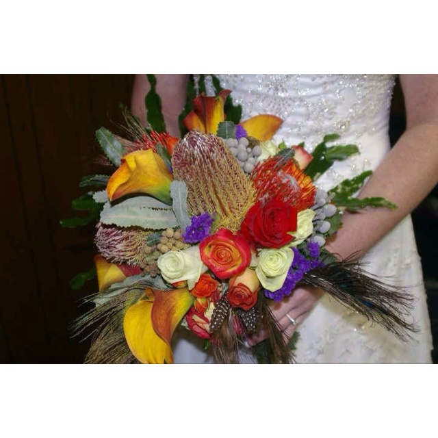 My beautiful wedding bouquet by Drakes Designs