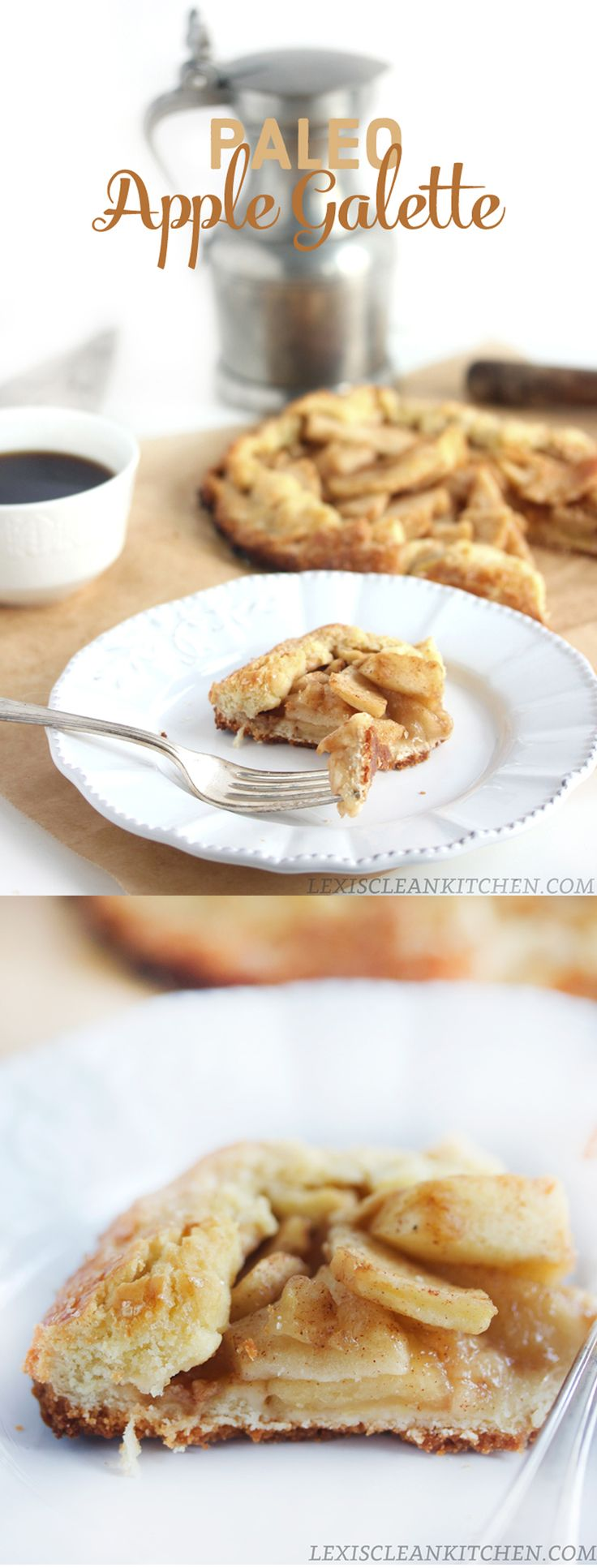 The Best Paleo Apple Galette #paleo #glutenfree