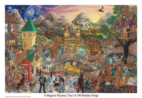 A Magical Mystery Tour (of 100 Beatles Songs) Photo at AllPosters.com