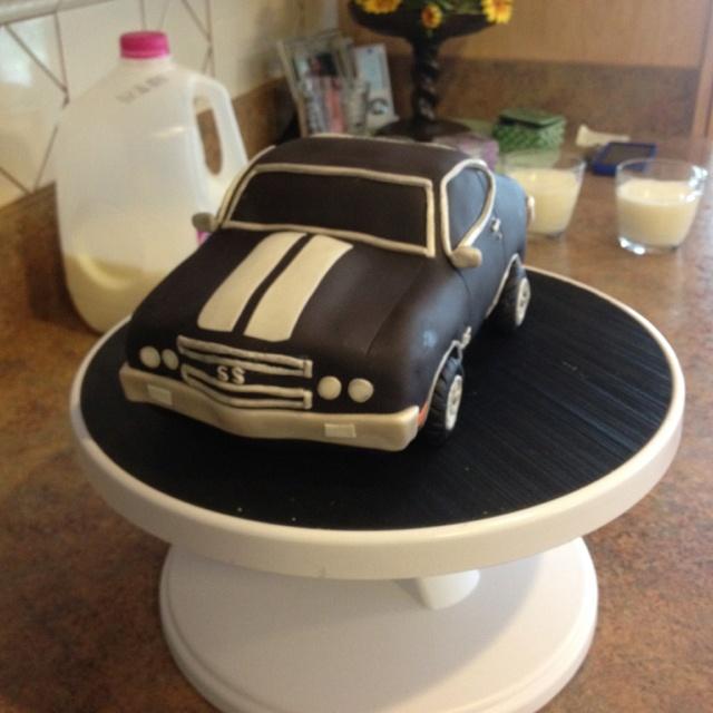 1970 Chevelle Cake Birthday Cake Ideas Pinterest