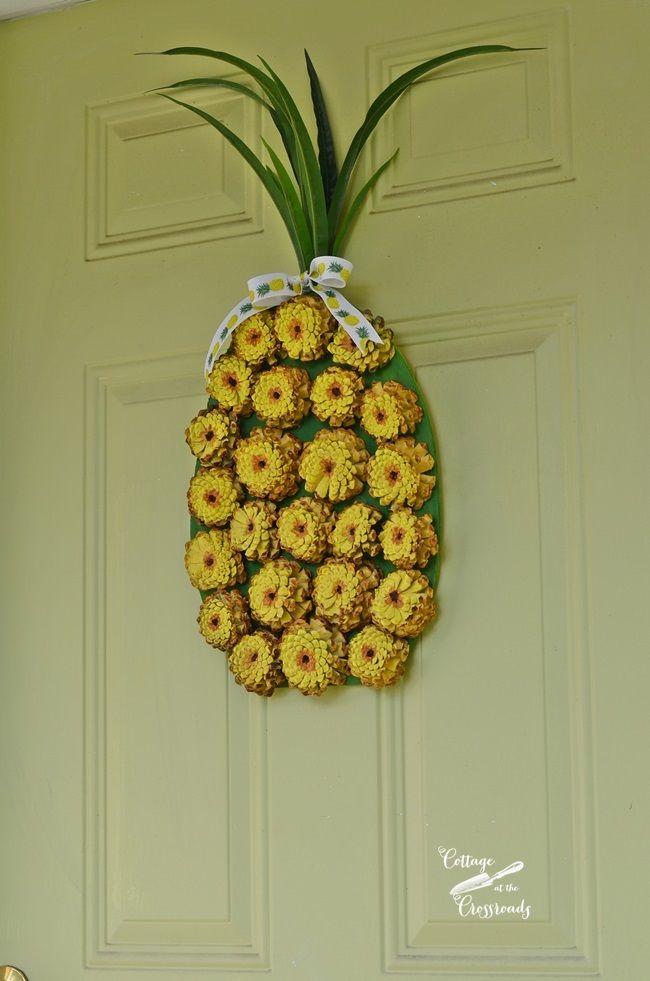 Pine Cone Pineapple Wreath – Kim Gibson