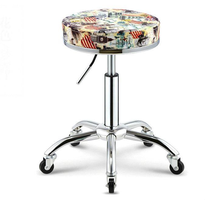 Nueva moda maestro de trabajo del salón de belleza silla y taburete giratorio de elevación