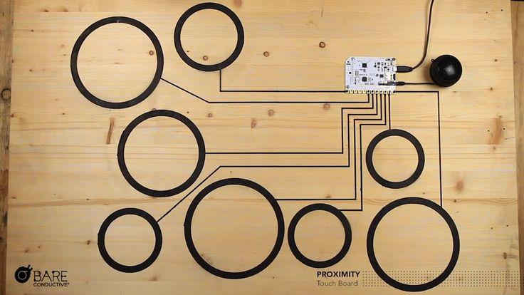 Touch Board: Proximity Demo 2