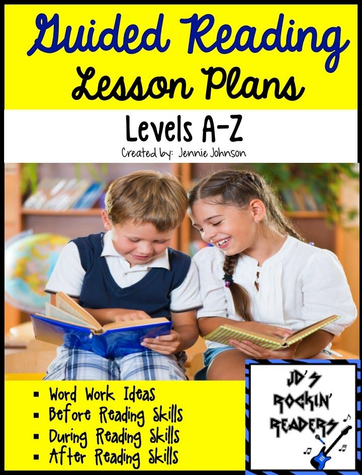 JD's Rockin' Readers: NEW! Guided Reading Lesson Plans Levels (O-Z)