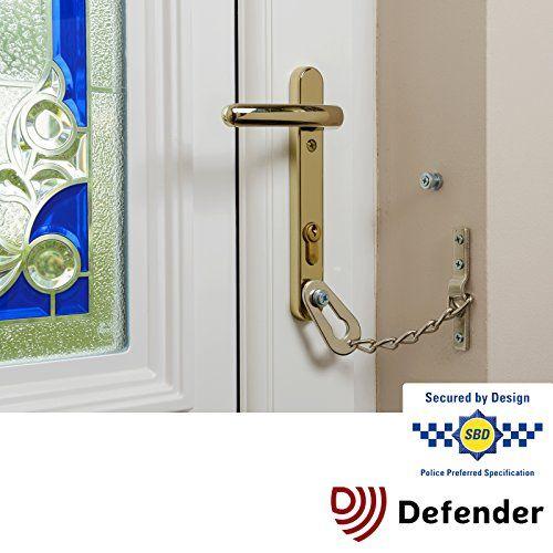 Defender Door Chain for PVCu Doors - Police Approved No description (Barcode EAN = 5060447640189). http://www.comparestoreprices.co.uk/december-2016-3/defender-door-chain-for-pvcu-doors--police-approved.asp