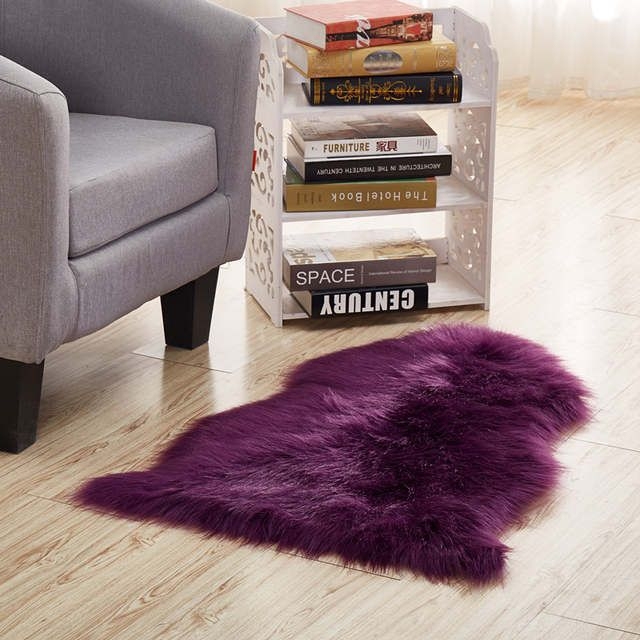 Best Multi Color Imitation Sheepskin Wool Area Rugs And Carpet 640 x 480