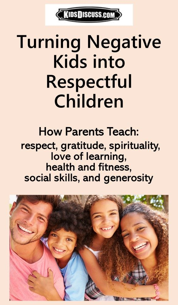 Practical Strategies For Parenting >> Disrespectfulkids Can Come From Good Families Solid Parenting