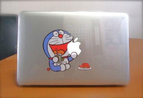 Doraemon MacBookPro sticker