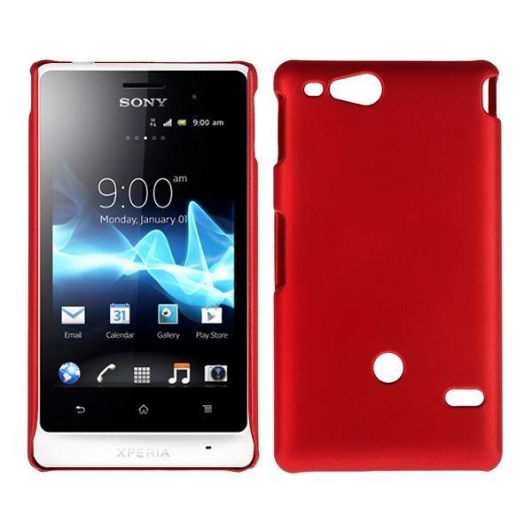 Hard Shell (Rød) Sony Xperia Go Deksel