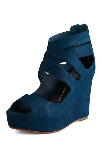 Dark teal wedge | + Current | Shoes, Fashion shoes, Teal ...