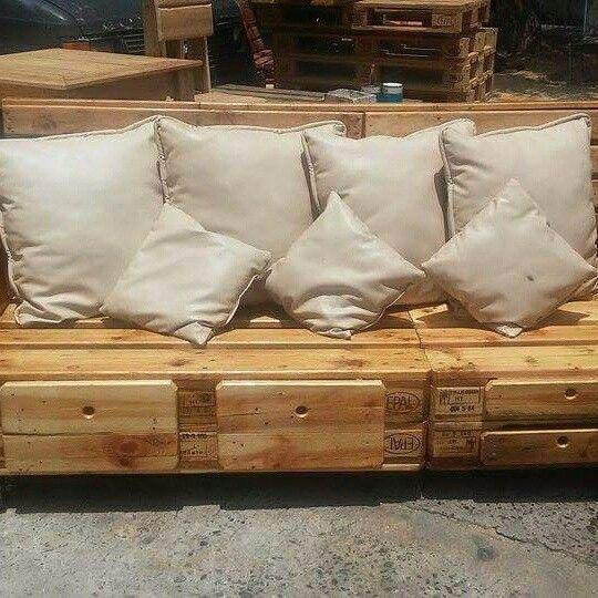 Mueble futon para patio o terraza los inventos de luis for Muebles para patio