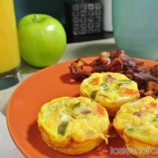 Mini Egg Quiches
