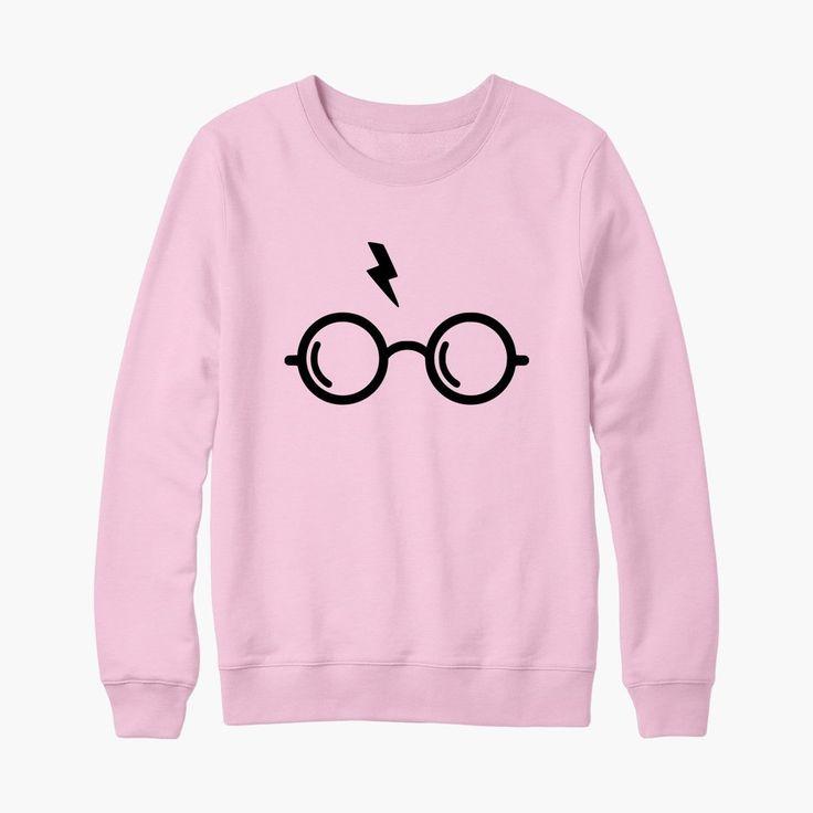 Sweat harry potter lunettes et éclair de foudre - bichette.co