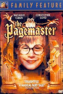 The Pagemaster, I love you Emily and all of our viewings of this!