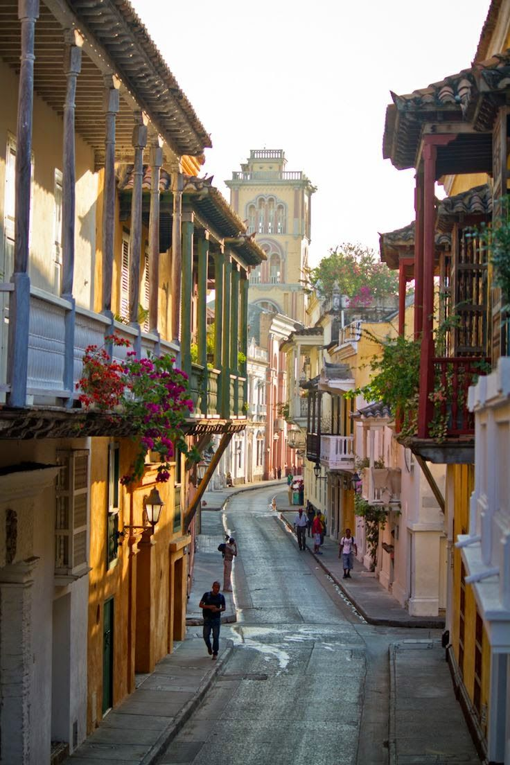 Cartagena, Colombia via Extremely Beautiful Places